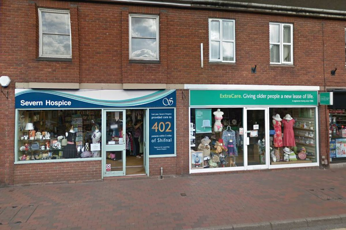 The Severn Hospice and ExtraCare shops were targeted. Photo: Google StreetView.