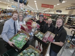 Supermarket to donate its surplus food to Bridgnorth Foodbank