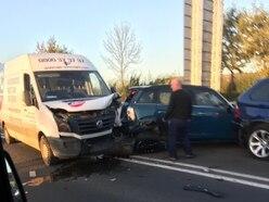 Shrewsbury Wyle Cop van crash company suffers second incident on same day