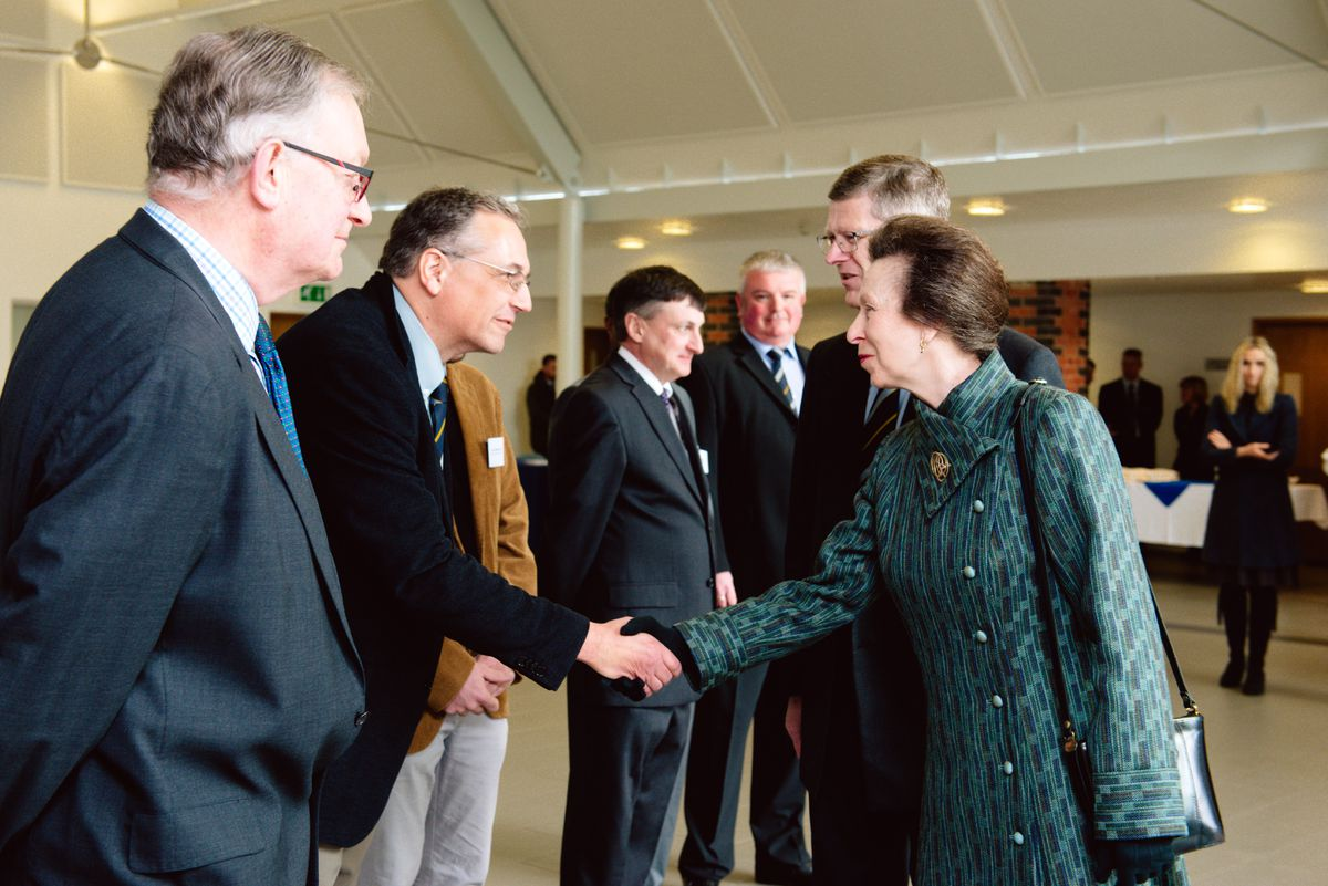 Princess Anne at Harper Adams University