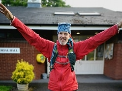 Way to go! Shropshire walker trekking 120 miles for £250,000 project