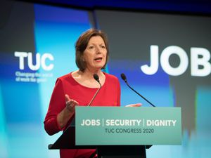 Frances O'Grady called for a clamp down on ethnic discrimination (Stefan Rousseau/PA)