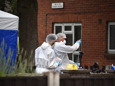 Murder detectives searching near fishing lake as fatal fire inquiry continues