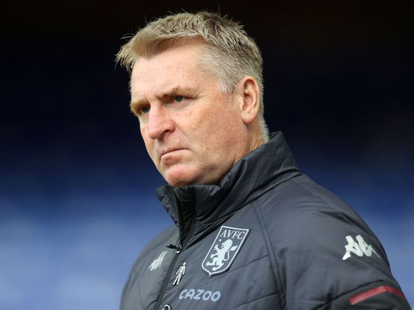 Aston Villa manager Dean Smith.