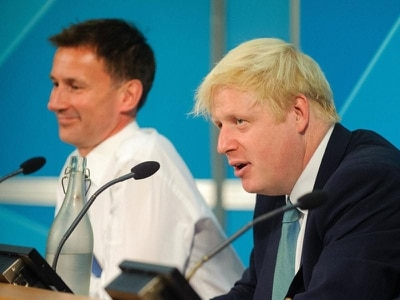 What do Hunt and Johnson think about Brexit, the NHS and taxes?