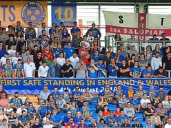 Shrewsbury Town's safe standing is Premier League stepping stone