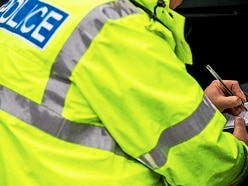 Youths damage village hall roof near Oswestry