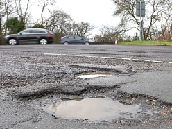 Number of potholes up by a fifth