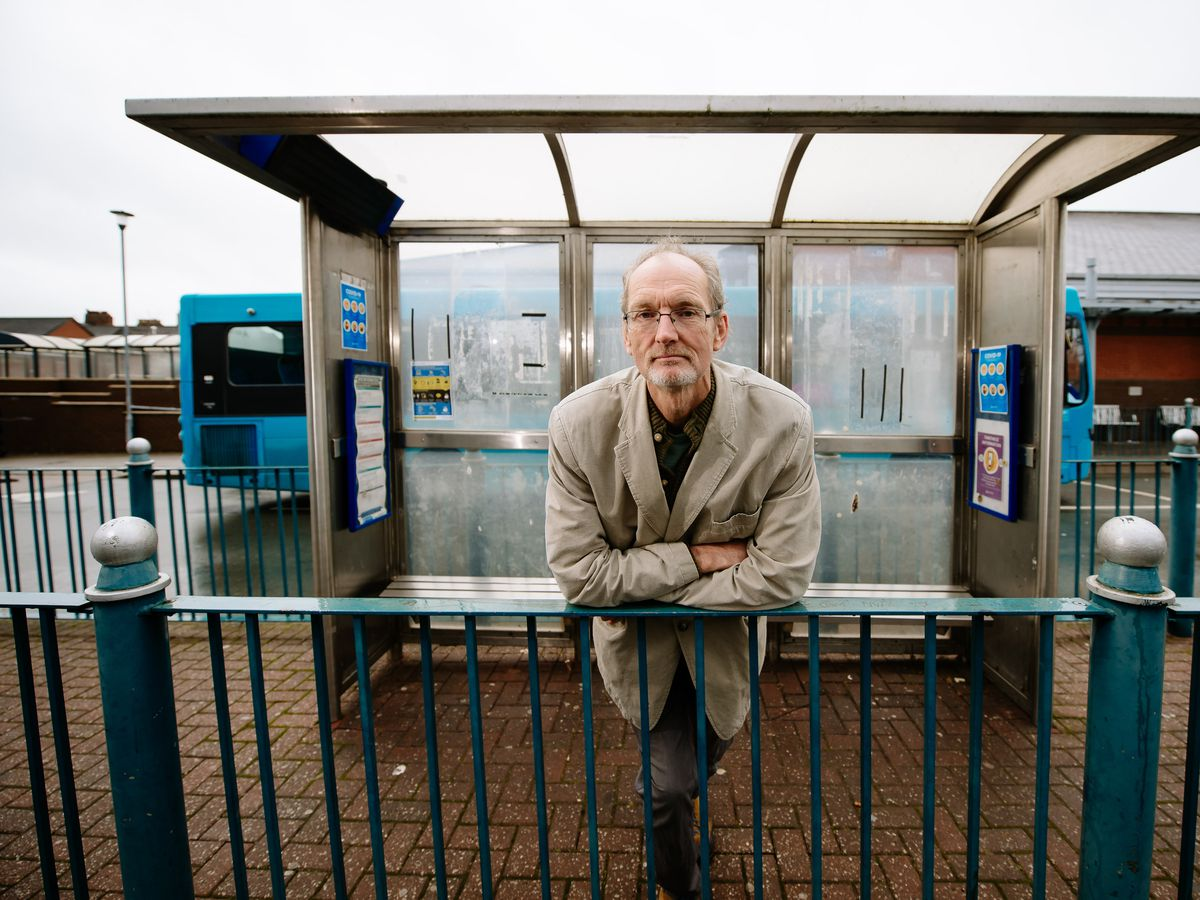 Oswestry mayor, Councillor Duncan Kerr, wants improvements to the town's bus station