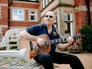NORTH COPYRIGHT SHROPSHIRE STAR JAMIE RICKETTS 12/02/2021 - Registered dementia nurse Jon Breese of Corbrook Park in Audlem near Market Drayton, has written and performed a song paying tribute to lockdown heroes..