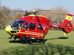 Air ambulance called as serious crash shuts Shrewsbury street
