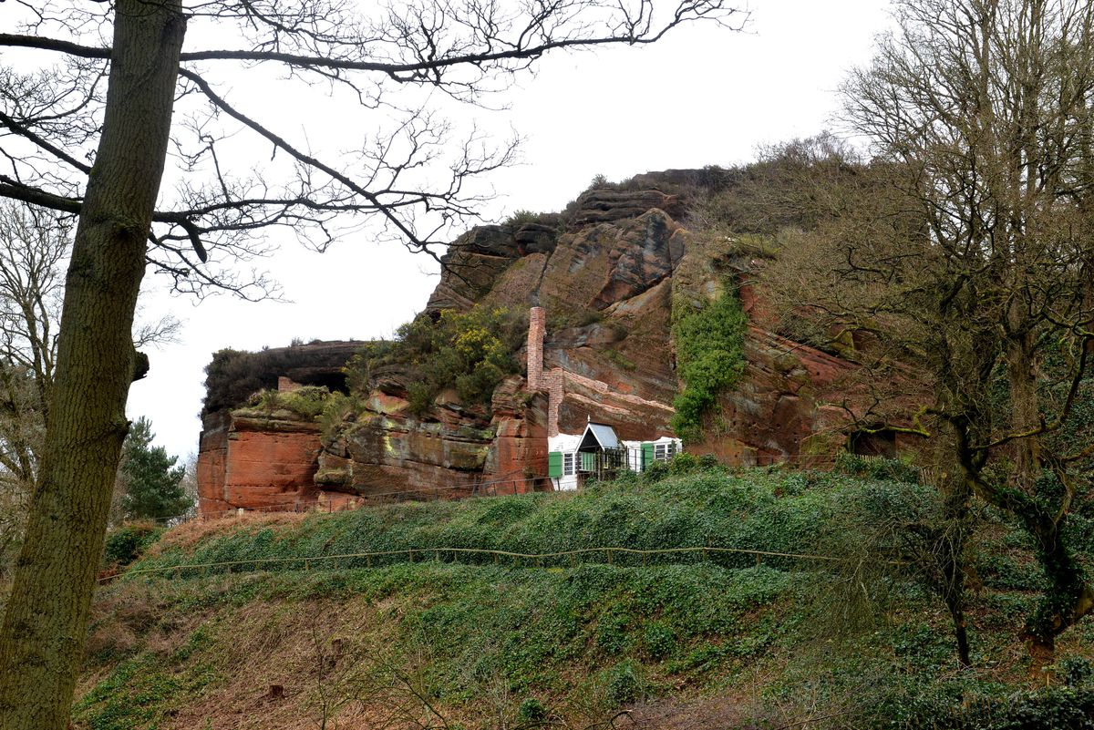 Pics at the National Trust Kinver Rock Houses, which are now open, and are in need of more volunteers
