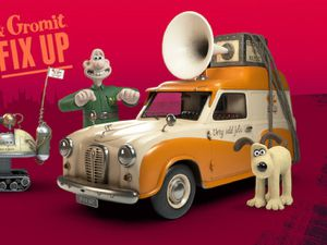 Wallace and Gromit ad