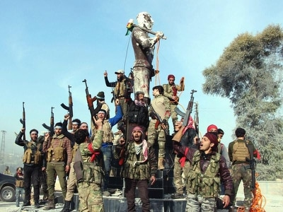 Turkish and allied troops capture Syrian town from Kurdish militia
