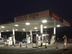 Fifty litres of diesel spills onto Telford petrol station forecourt - with video