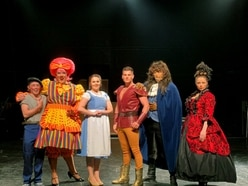 Curtain goes up on panto