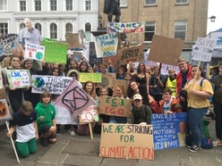 Students take to the streets over climate change
