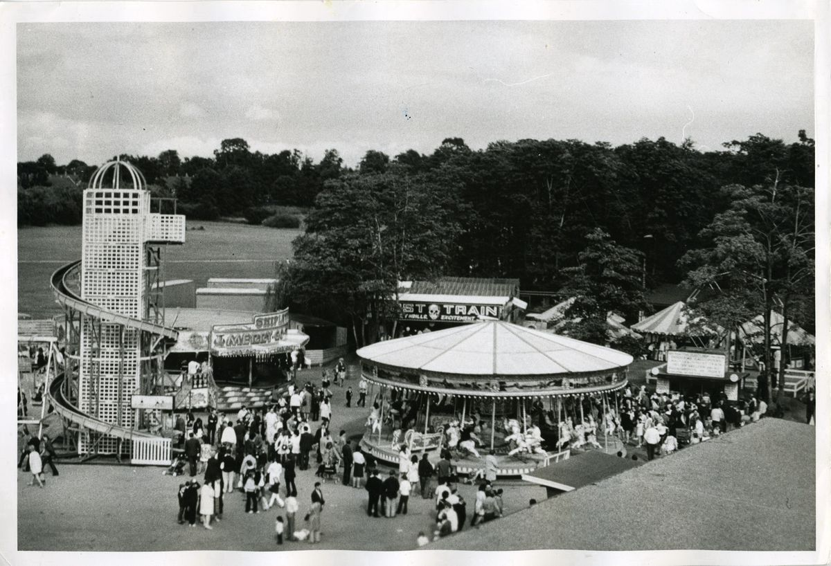 Drayton Manor pictured in 1962
