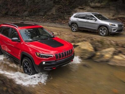 Jeep reveals its facelifted Cherokee, arriving in the UK in October