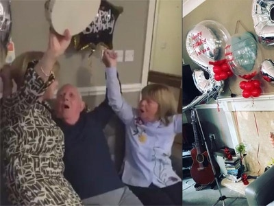 Watch this Liverpool fan with Alzheimer's sing You'll Never Walk Alone at his 85th birthday party