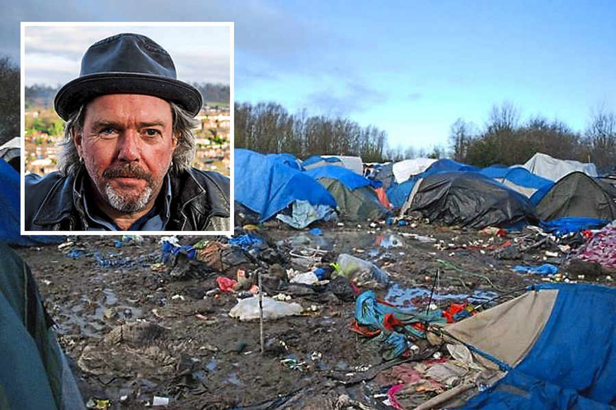Bridgnorth man tells of 'living hell' in migrant refugee camps