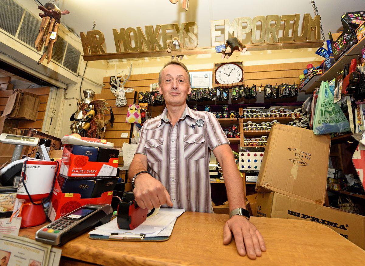 Peter Wright, of Mr Monkeys Emporium