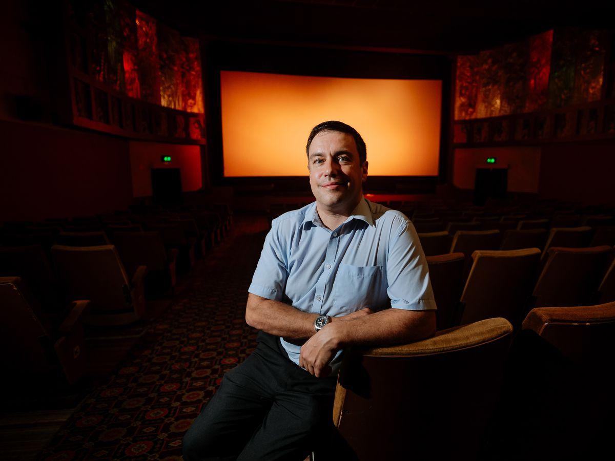 Majestic Cinema Bridgnorth. Manager James Frizzell