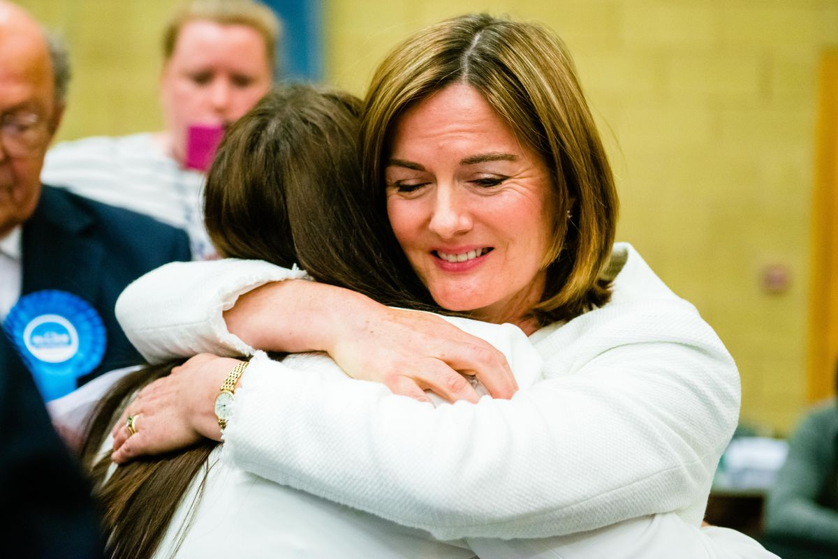 Lucy Allan wins the Telford seat