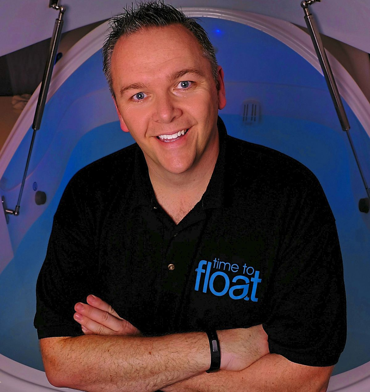 Mark Smethurst who runs Time To Float