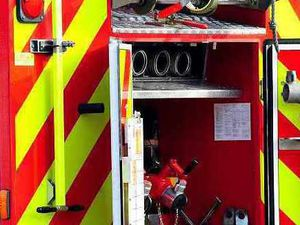 Kitchen catches fire at Ludlow Racecourse