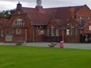 Former Maesydre school premises in Welshpool