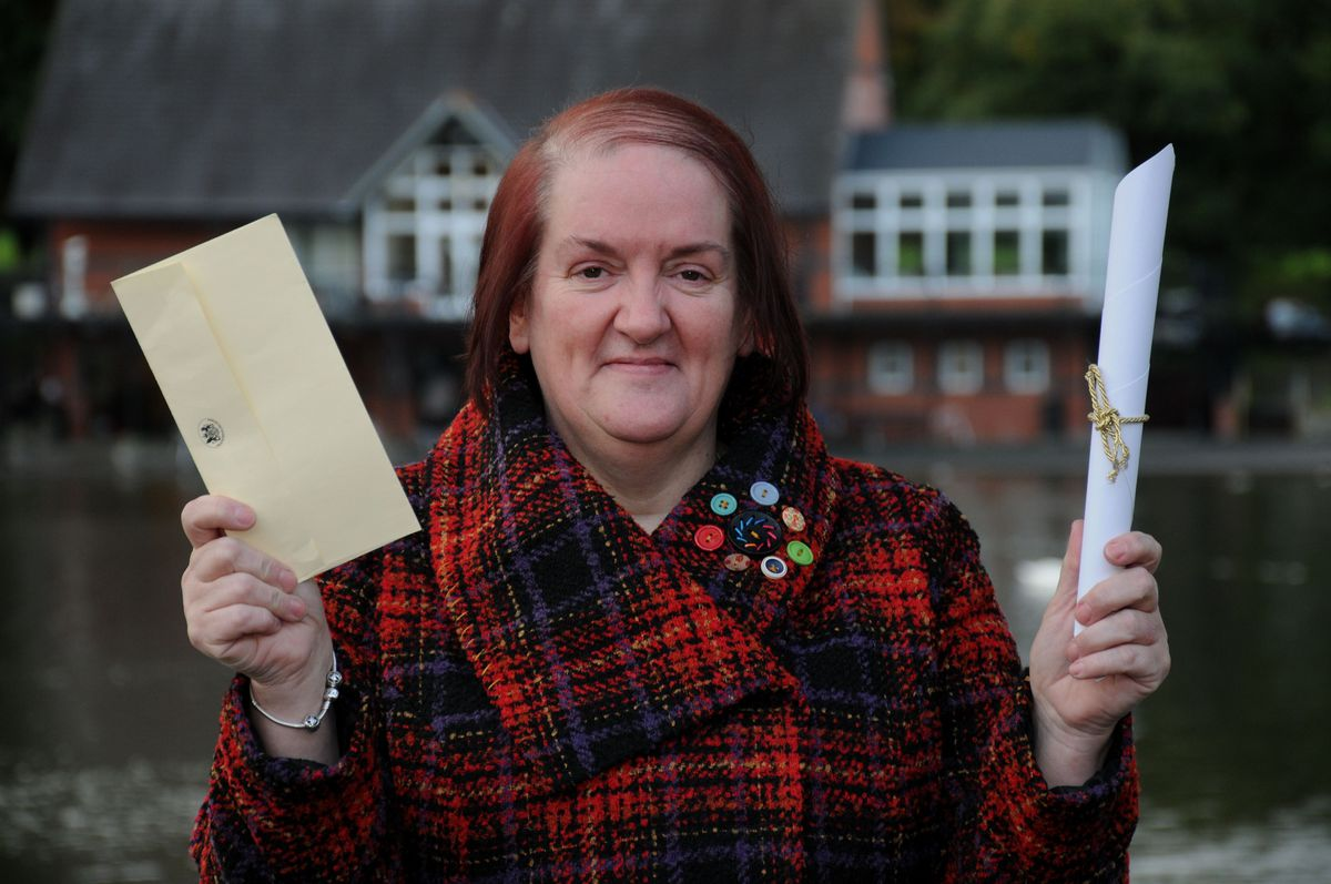 Jayne Griffiths has been awarded a MBE for her services to Tesco and the communities of Powys.