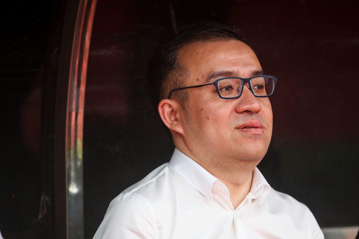 Jeff Shi the executive chairman of Wolverhampton Wanderers.