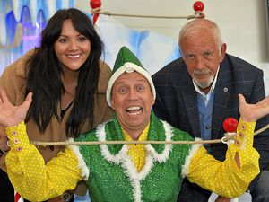 Martine McCutcheon, Tam Ryan as Buddy the Elf and David Essex will appear in panto at Birmingham Arena this December