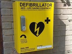 Information board idea for Wellington defibrillator locations