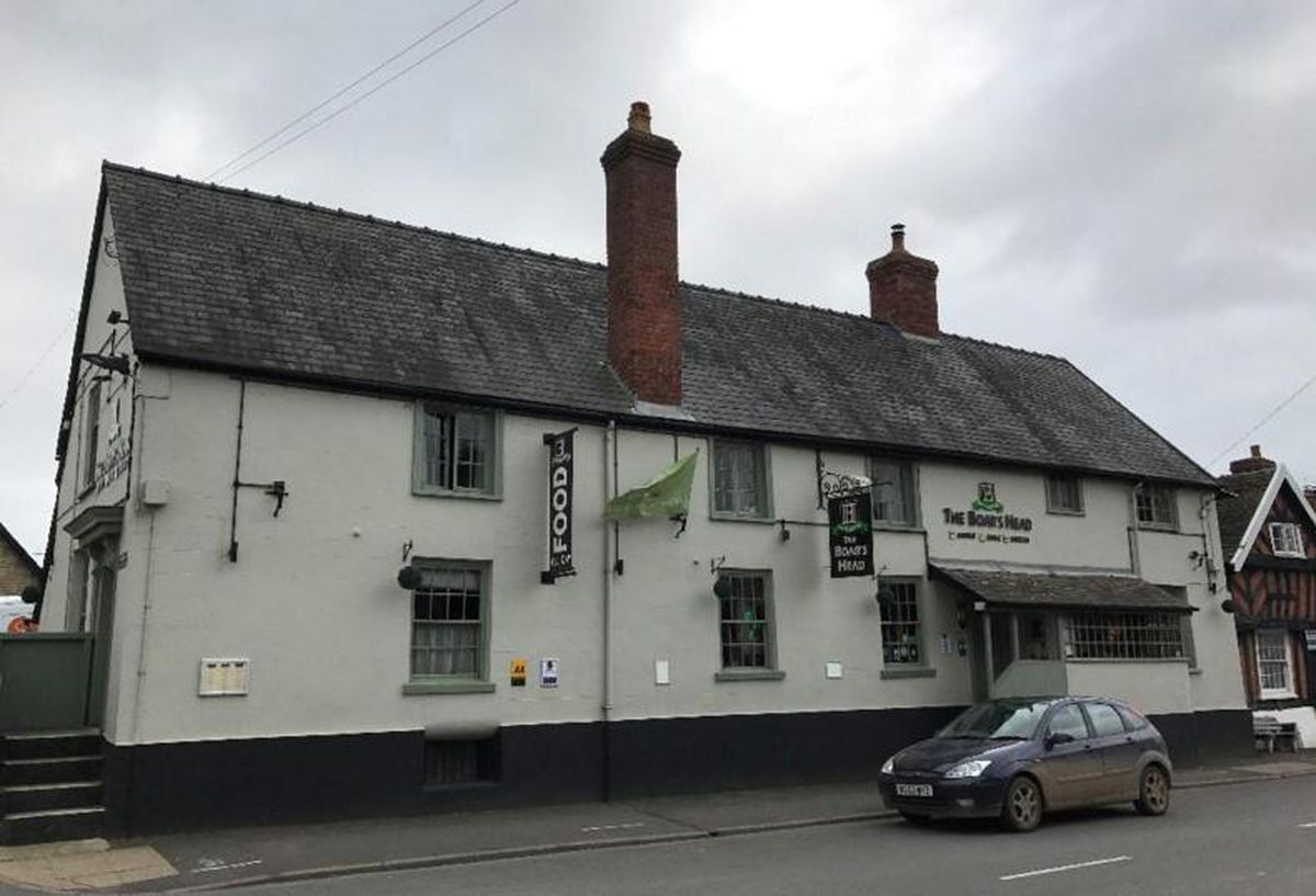 The Boar's Head in Bishop's Castle, where Mr Price is the landlord