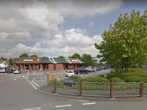 Meole Brace Retail Park. Photo: Google StreetView.