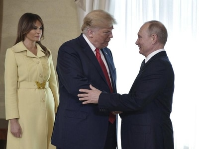 In Pictures: Trump and Putin's historic meeting in Helsinki
