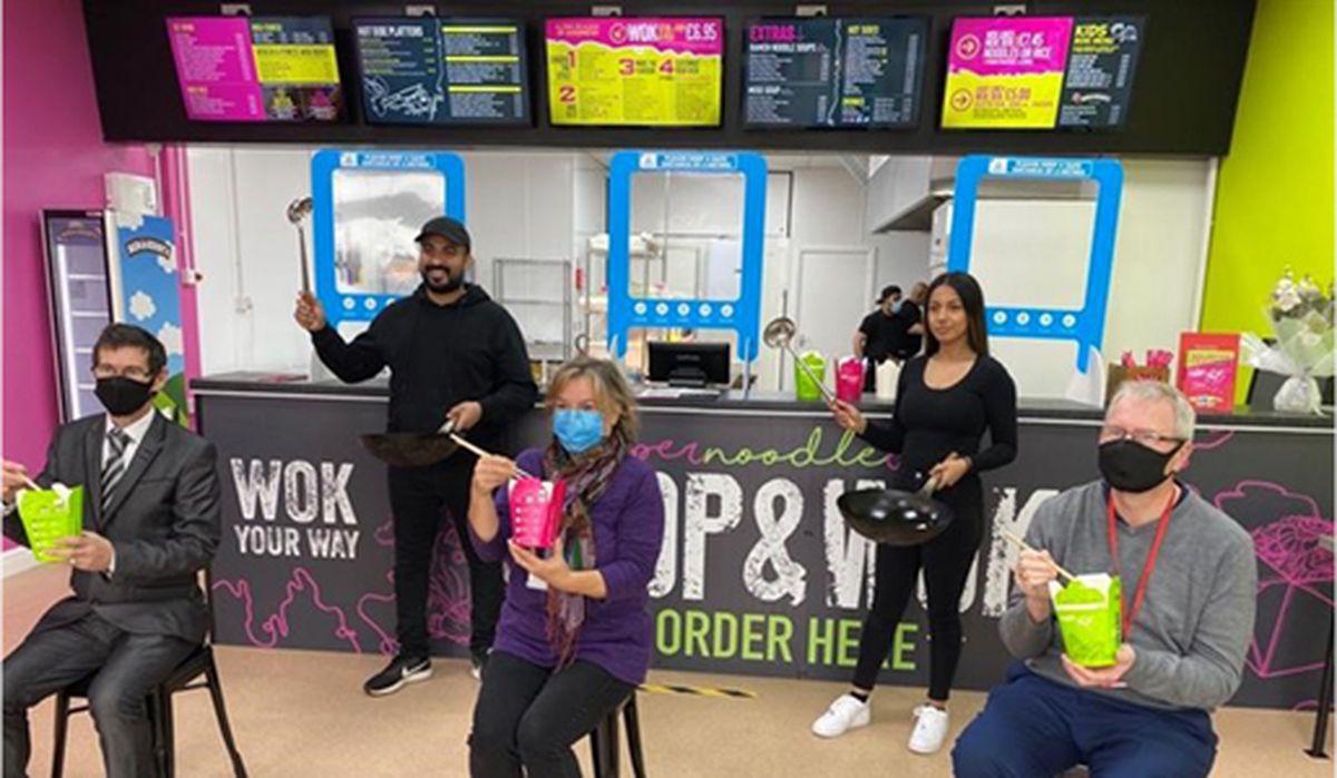 Chop and Wok has opened in Bridge Street, Wellington