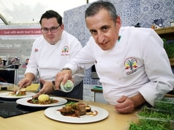 Chefs cook competition menu at Welshpool fundraiser