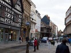 Shrewsbury town centre's one-way to close next week