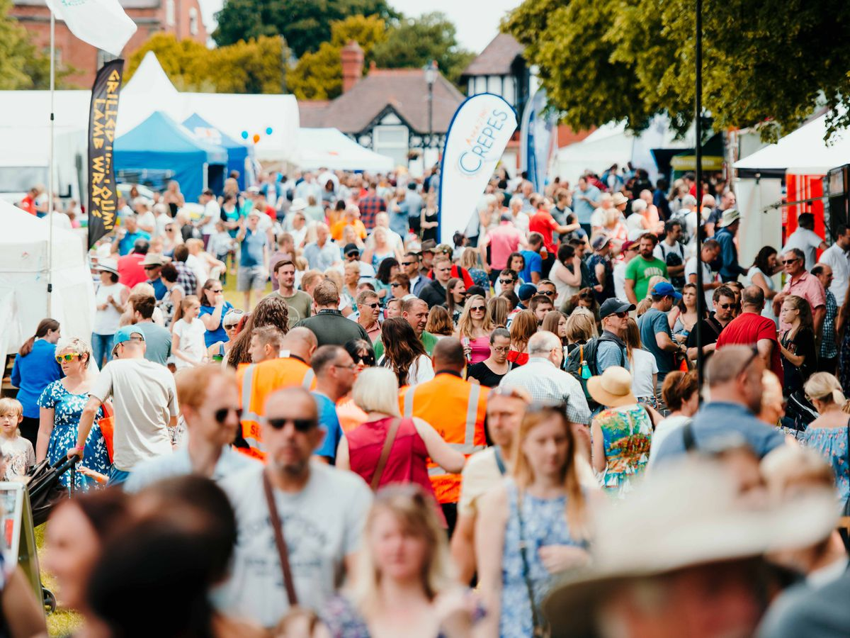 EE said 5G will now be available in Shrewsbury, and at events such as Shrewsbury Food Festival this weekend.