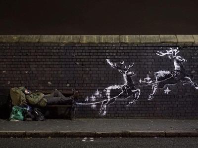 Banksy to raise money for homeless charities after latest artwork