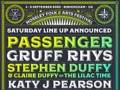 Passenger, Gruff Rhys, Stephen & Claire Duffy to play Moseley Folk Festival