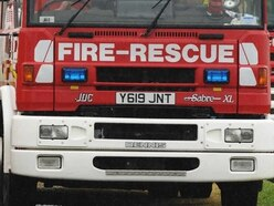 20 firefighters tackle blaze near Bridgnorth