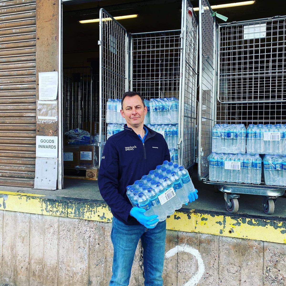 Bruce Orme, director at Wenlock Spring Water