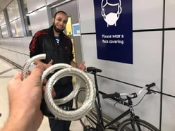 Rail worker stops bike theft and waits four hours to reunite it with its owner