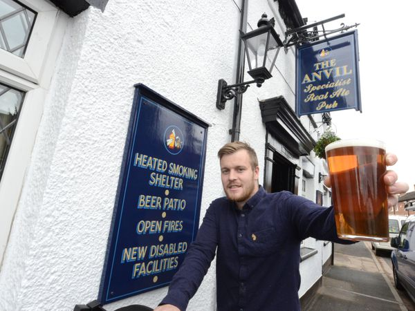 Tom Sutton, landlord of The Anvil in Shifnal