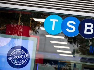 A TSB bank on Cheapside, London. The High street bank has said it will cut around 900 jobs as part of plans to close 164 of its high street bank branches. PA Photo. Picture date: Wednesday September 30, 2020. See PA story CITY TSB. Photo credit should read: Aaron Chown/PA Wire