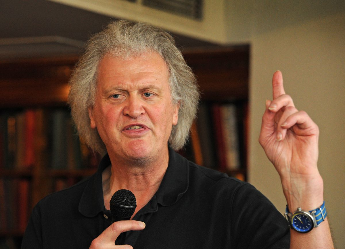 Founder and chairman of Wetherspoon Tim Martin at The Shrewsbury Hotel